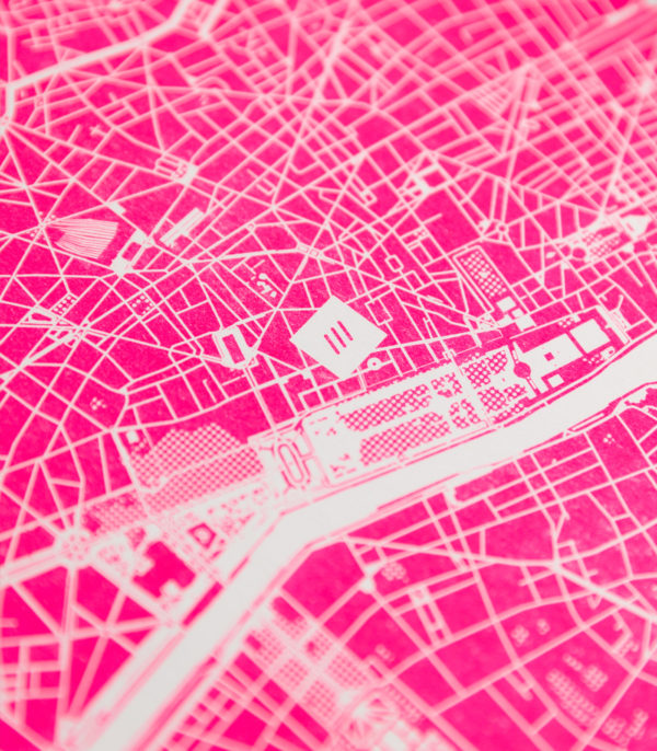 fluoro pink detail