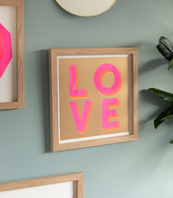 love risograph print