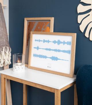 serenity blue soundwave