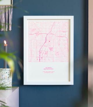 fluoro pink riso map