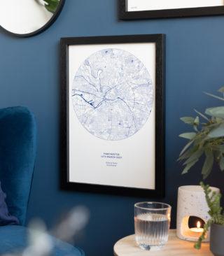 circle textures riso map
