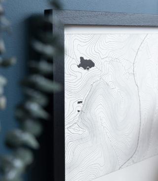 topographic detail