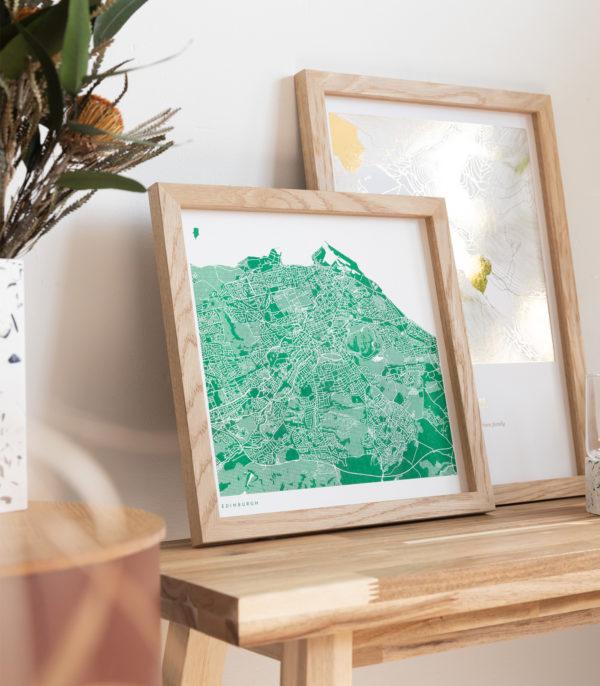 green riso city map
