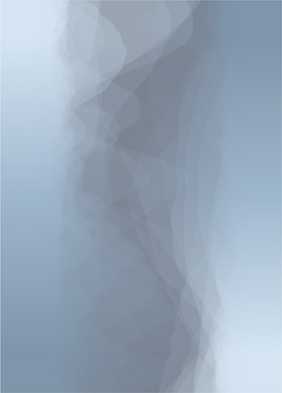 blue fog on grey