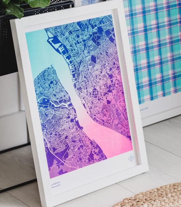 Liverpool gradient map