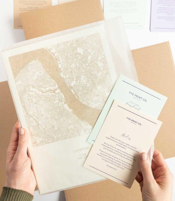 unframed packaging
