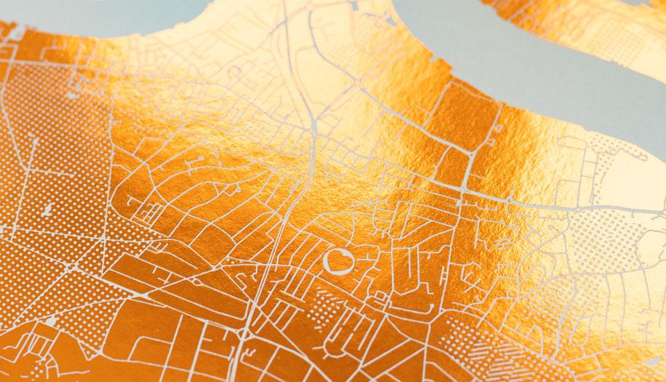 land map copper